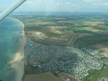 Medmerry aerial view